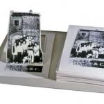 DANIELA CIGNINI / MARIO MATTO, ASPORTABILE, scultura alluminio e cartone stampato, cm 25x22x17, 2001