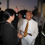 Ambasciatore delle Filippine, Leonida L. Vera allo studio.ra