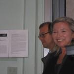 Elena Polidori e Filippo Ceccarelli - opening White Night a studio.ra