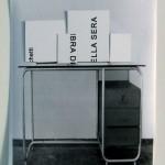 Maquette 2008 stampa e collage cm 21x29