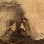 Eugenio Montale, foto storica