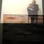 """FRANCESCO CORREGGIA """"Conceptus spatii"""", 2007 proiezione video e pittura ad olio su tela, m 1,80×2,60"""