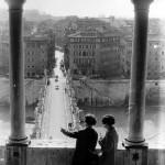 Veduta da Castel Sant'Angelo, Giuseppe Ottai, Courtesy galleria STUDIO.RA