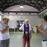 Jill Rock talks in Sala Nagasawa with Roberto Zibetti (www.cineairone.com) - May 8, 2013