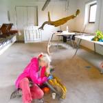 Jill Rock at work al Casale Ex Mulino - giovedì Maggio 2013