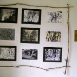 installazione n. 1 foto b/n Campagna Romana anni 60-70 di Giuseppe Ottai al Casale Ex Mulino 25-26 maggio 2013