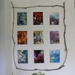 installazione n. 3 foto b/n Campagna Romana anni 60-70 di Giuseppe Ottai al Casale Ex Mulino 25-26 maggio 2013