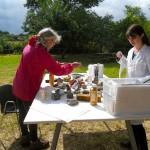 laboratorio con Jo Roberts and Jill Rock - 1st June 2013