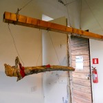scultura 3 di Jill Rock al Casale Ex Mulino, 25-26 maggio 2013
