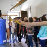 visitatori alla mostra di Jill Rock - 25.5.2013
