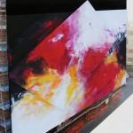 Murals for studio.ra di Antonietta Reschiglian www.reschiglianpittrice.it da Città Di Padova