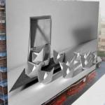 """""""le bianche barche"""" 2013 di Massimo Palumbo, installazione presentata ai Cantieri Culturali della Zisa Palermo"""