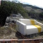 """""""Dream"""" 2012 di Serena Rossi (ancora installato a Gravina di Puglia nel museo a cielo aperto)"""