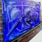 """""""Twisting in blue"""" di Stefania Colizzi"""