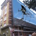 """""""Murales per studio.ra in Rome"""" - Pollination London Biennale 2014, di Raffaella Losapio"""