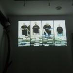 gruppo sinestetico-proiezione video