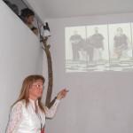 gruppo sinestetico-proiezione video con presentazione di Raffaella Losapio