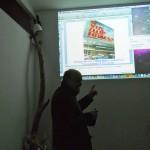 proiezione murales di Rocco Salvia