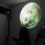 proiezioni luna