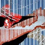 """""""Almone Today"""" di Giuseppe Scelfo - cm. 70x100 acrilico su tela, 2014"""