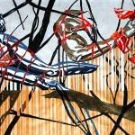 """""""Almone Tomorrow"""" di Giuseppe Scelfo - cm. 70x100 acrilico su tela, 2014"""