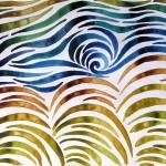 """""""Sogno sull'Almone"""" by Qinggang Xiang - pittura su carta, cm 25 x 35, 2014"""