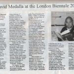 David Medalla at the London Biennale 2006_1000