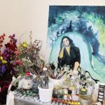 Roberta's studio, portraits